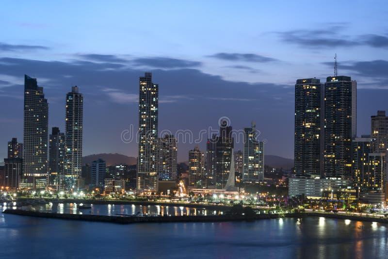 stad panama royaltyfri bild