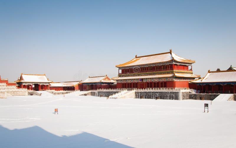stad räknad förbjuden snow fotografering för bildbyråer