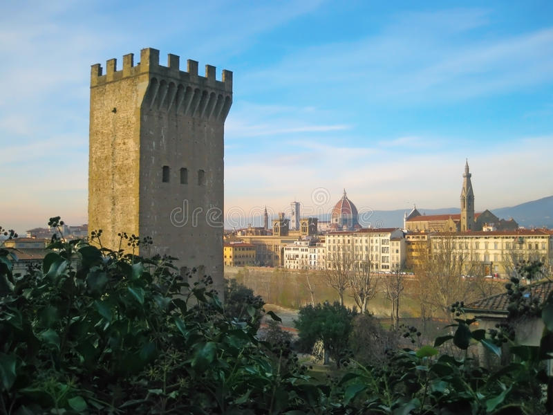 Stad r in Florence, Italië stock fotografie