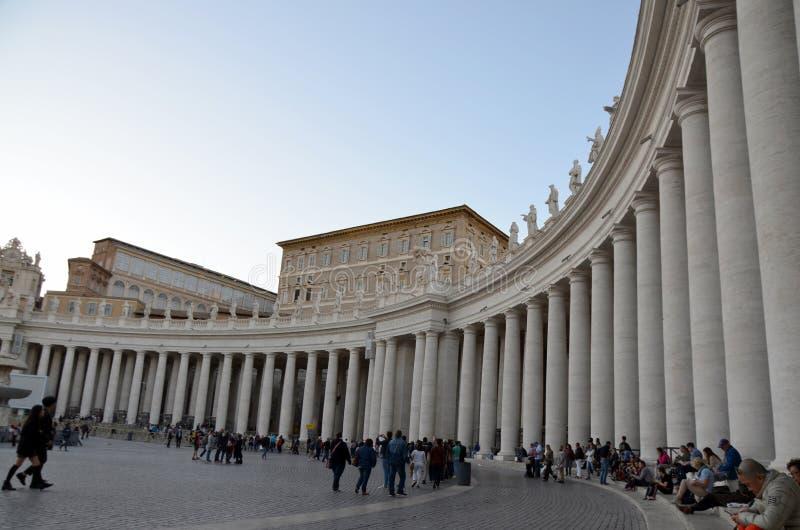 stad rome vatican arkivbilder