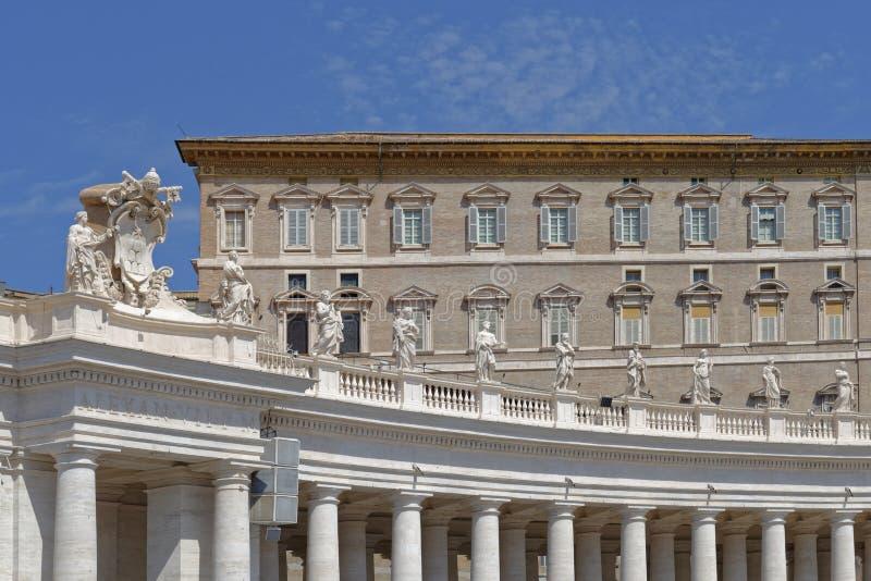 stad rome vatican royaltyfria foton