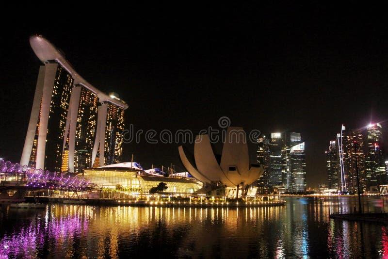 stad singapore royaltyfria foton