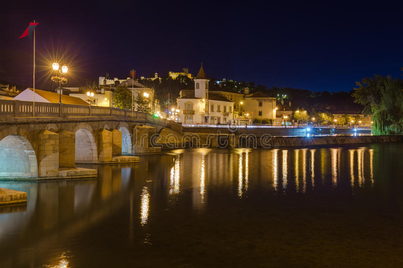 Stad Tomar - Portugal royaltyfri foto