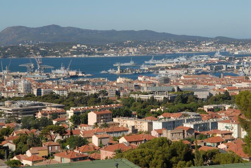 Stad Toulon stock foto