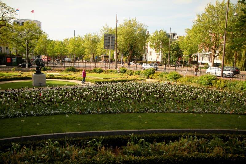 Stad van Amsterdam stock afbeelding