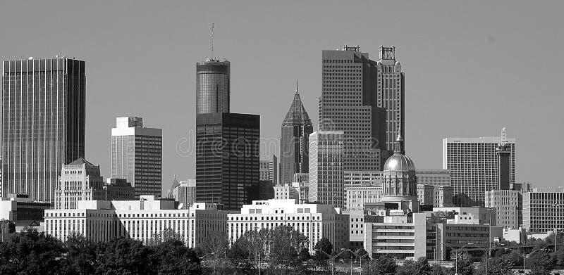 Stad van Atlanta GA stock foto's