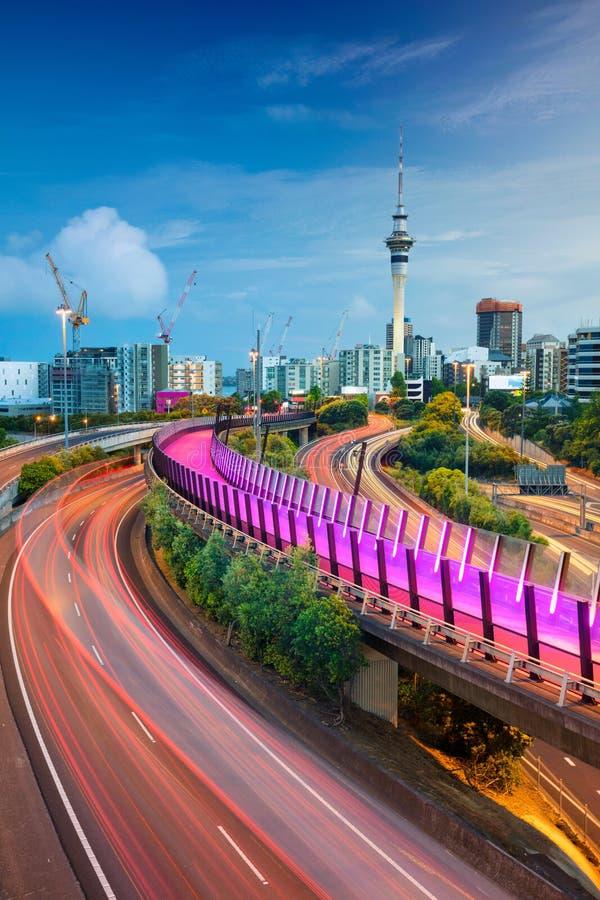 Stad van Auckland stock foto
