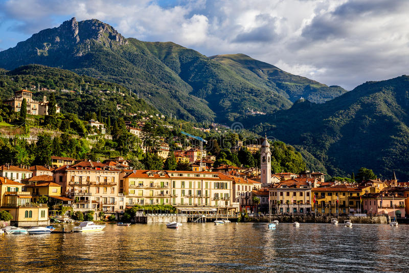 Stad van Bellagio, Italië royalty-vrije stock foto's