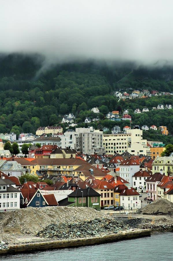 Stad van Bergen royalty-vrije stock afbeelding