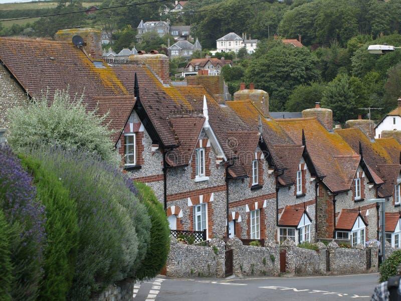 Stad van Bier, Devon, Engeland royalty-vrije stock afbeeldingen