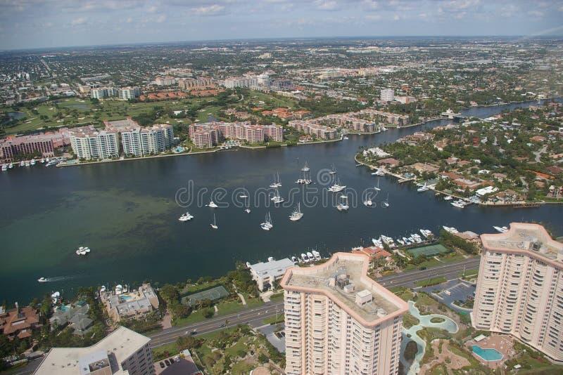 Stad van Boca Raton - Baai royalty-vrije stock foto