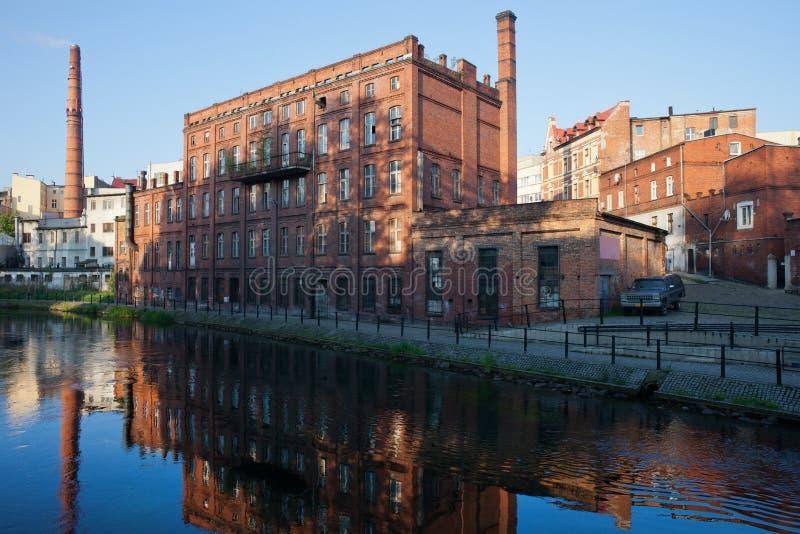 Stad van Bydgoszcz in Polen royalty-vrije stock foto's
