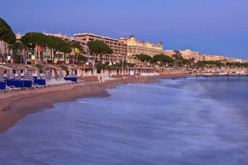 Stad van Cannes royalty-vrije stock afbeeldingen