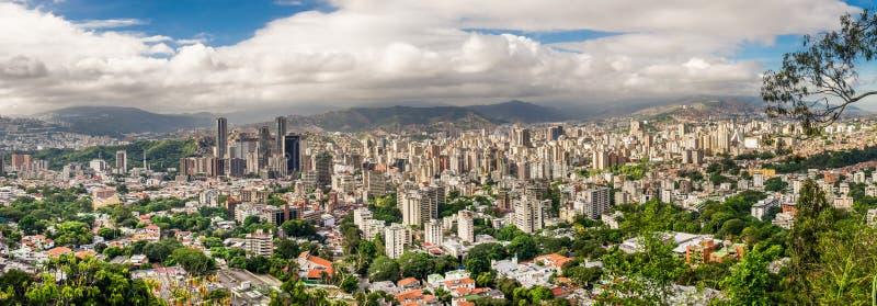 Stad van Caracas, Venezuela royalty-vrije stock fotografie