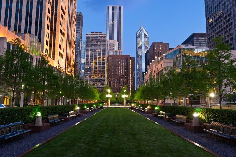 Stad van Chicago royalty-vrije stock afbeeldingen