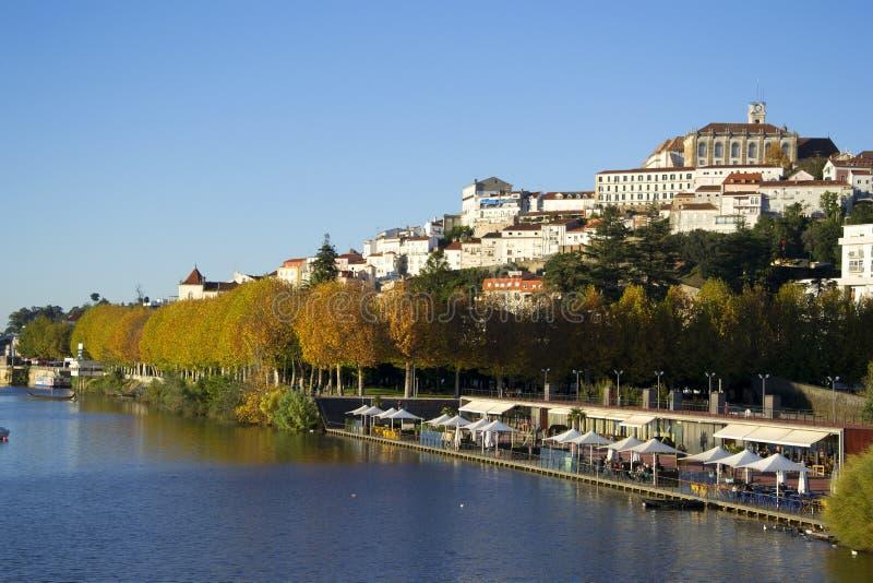 Stad van Coimbra stock foto's