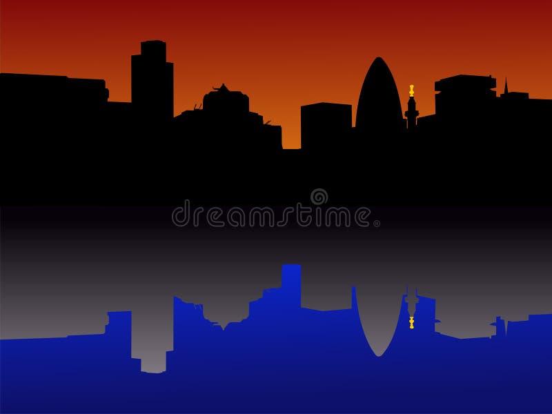 Stad van de Horizon van Londen
