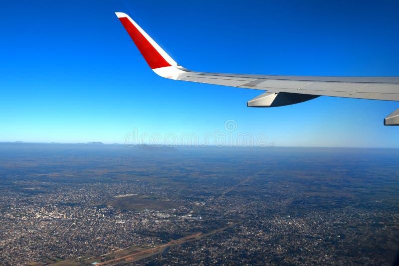 Stad van de lucht stock fotografie