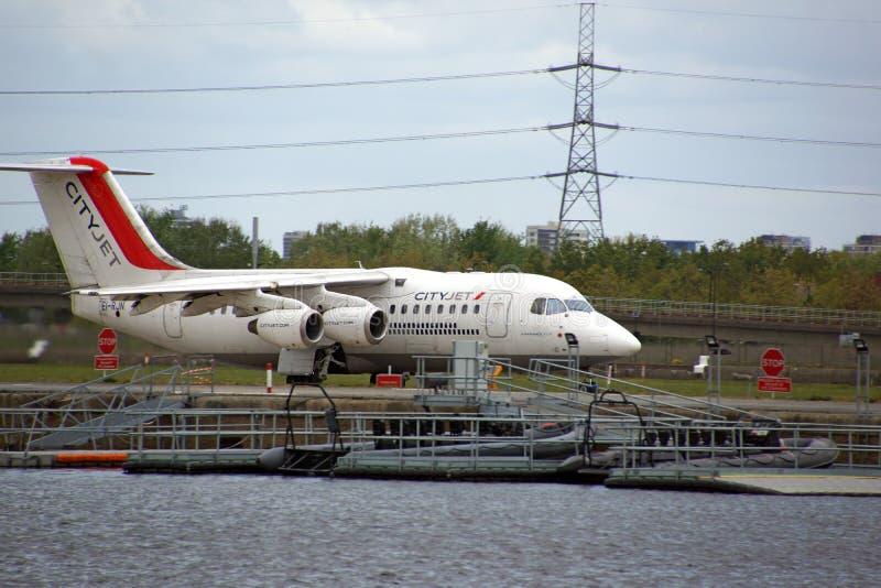 Stad van de Luchthaven van Londen royalty-vrije stock fotografie