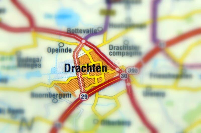 Stad van Drachten - Breda stock foto's