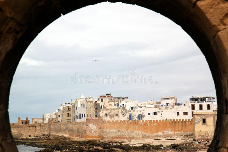 Stad van Essaouira stock afbeelding