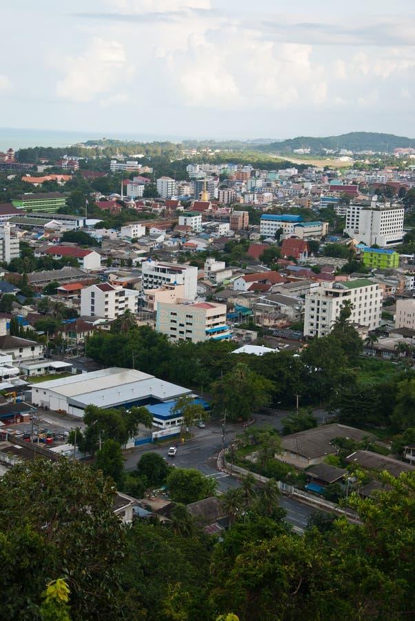 Stad van Hatyai Thailand royalty-vrije stock foto