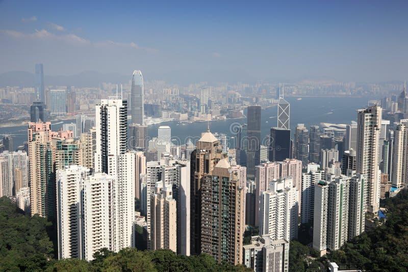 Stad van Hong Kong royalty-vrije stock foto's