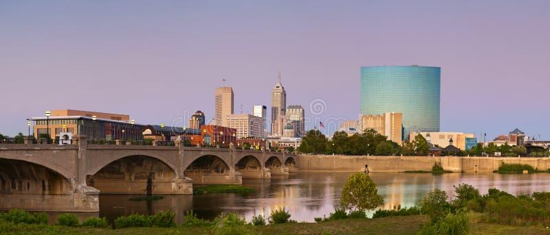 Stad van Indianapolis. stock afbeelding