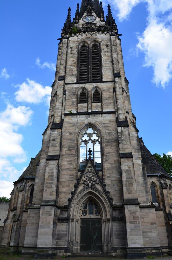 Stad van Kassel, Duitsland stock afbeelding
