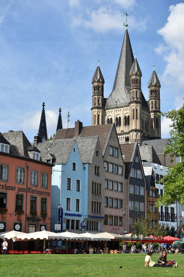 Stad van Keulen, Köln royalty-vrije stock afbeeldingen