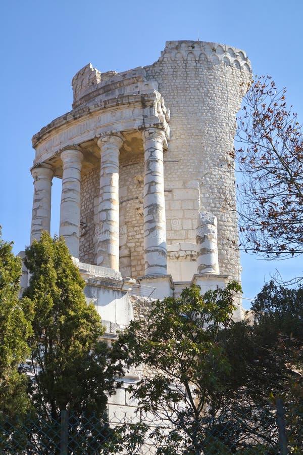 Stad van La Turbie royalty-vrije stock afbeeldingen