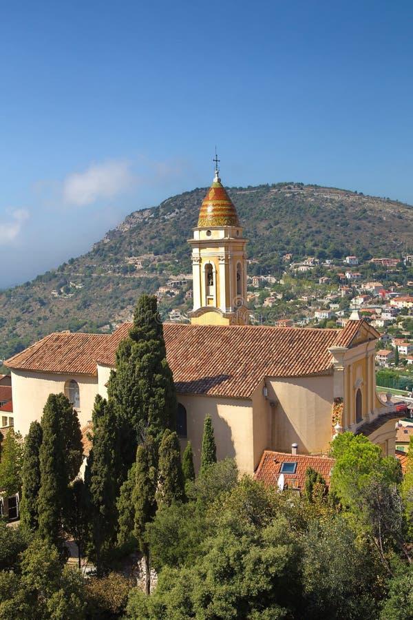 Stad van La Turbie royalty-vrije stock afbeelding