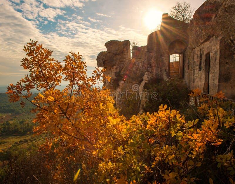 Stad van Les de baux-DE-Provence, Frankrijk royalty-vrije stock afbeeldingen