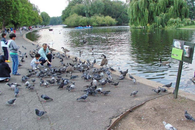 Stad van Londen het Verenigd Koninkrijk Stadslandschap van historische districten stock afbeelding