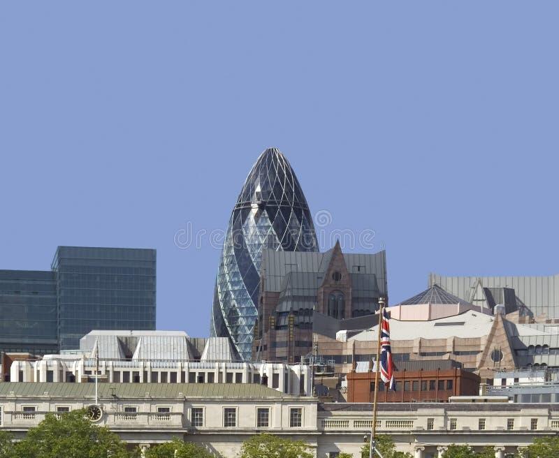 Stad van Londen horizon royalty-vrije stock foto