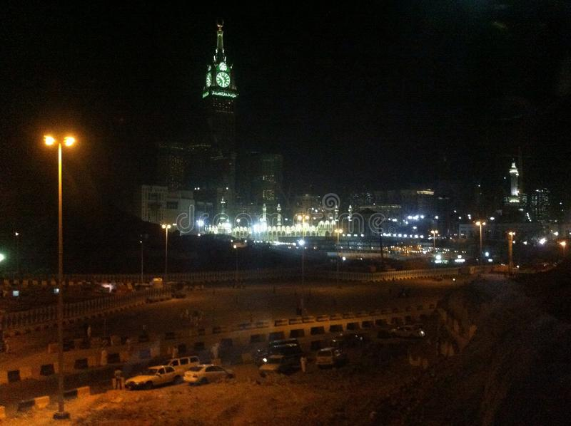 Stad van Mekka stock afbeeldingen