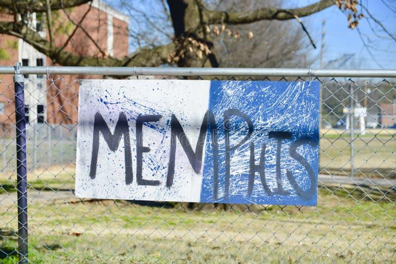 Stad van Memphis stock foto