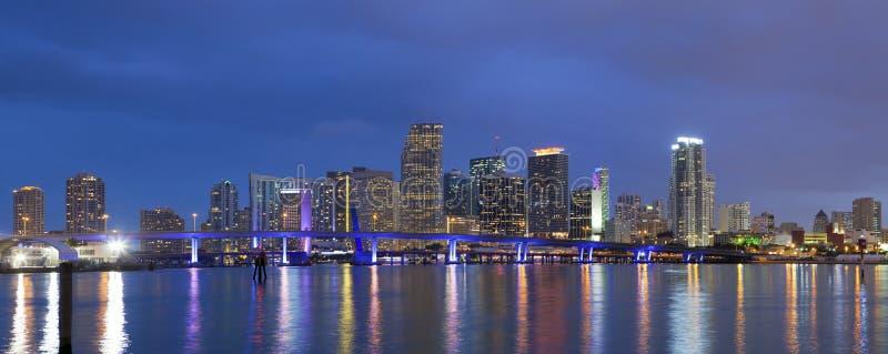 Stad van Miami. royalty-vrije stock foto