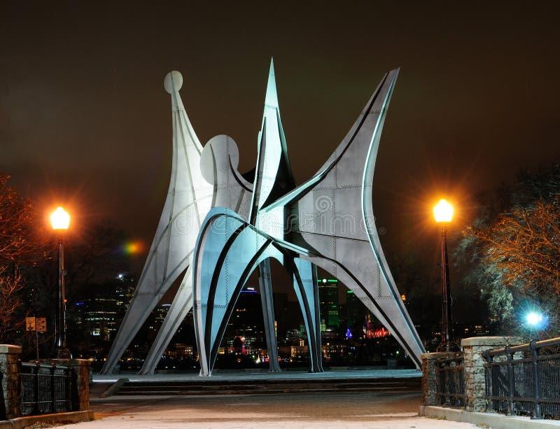 Stad van Montreal stock foto