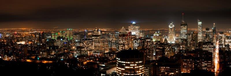 Stad van Montreal stock foto's
