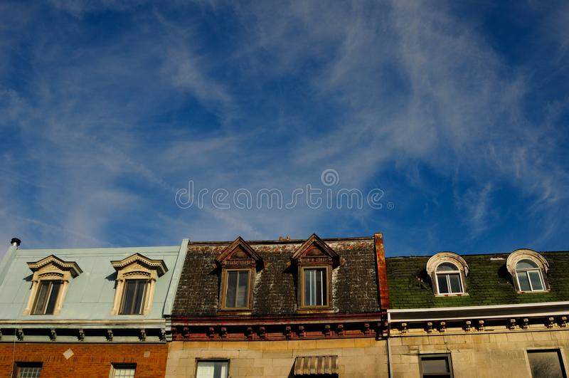 Stad van Montreal royalty-vrije stock fotografie