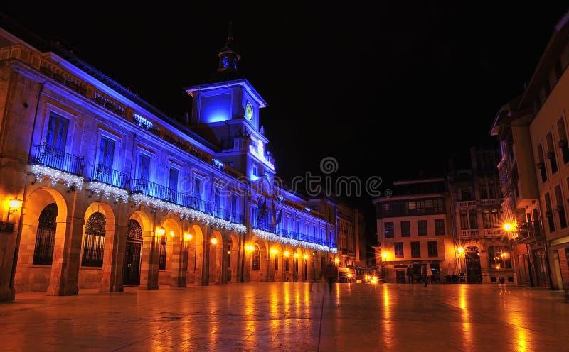 Stad van Oviedo. stock afbeeldingen