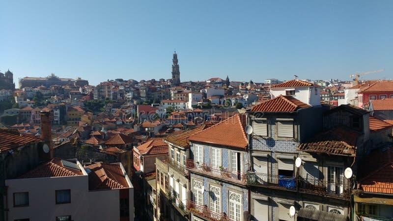 Stad van Porto, Portugal royalty-vrije stock foto's