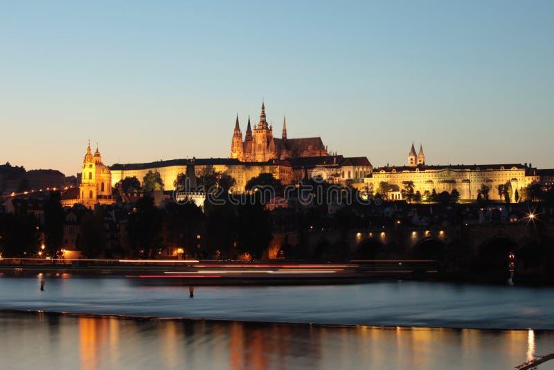 Stad van Praag stock afbeelding