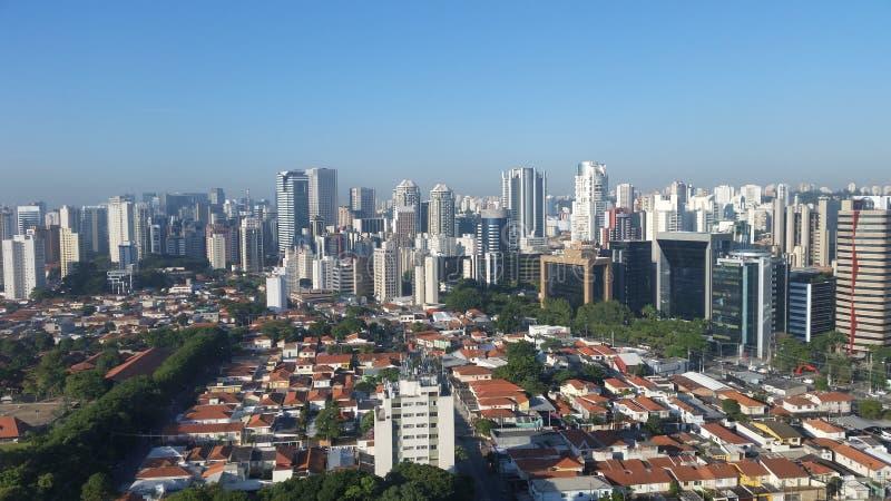 Stad van São Paulo Brazil South America stock fotografie