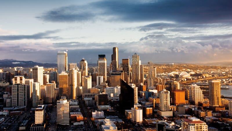 Stad van Seattle royalty-vrije stock afbeeldingen