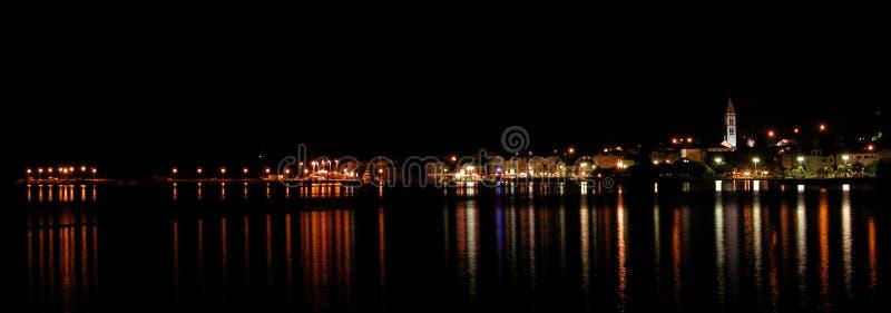 Stad van Supetar royalty-vrije stock foto's