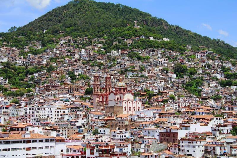 Stad van taxco III stock afbeeldingen