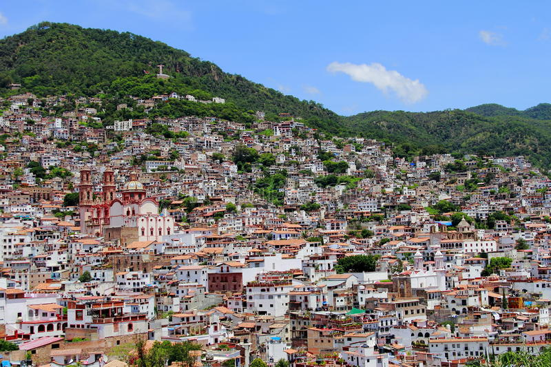 Stad van taxco IV stock afbeelding