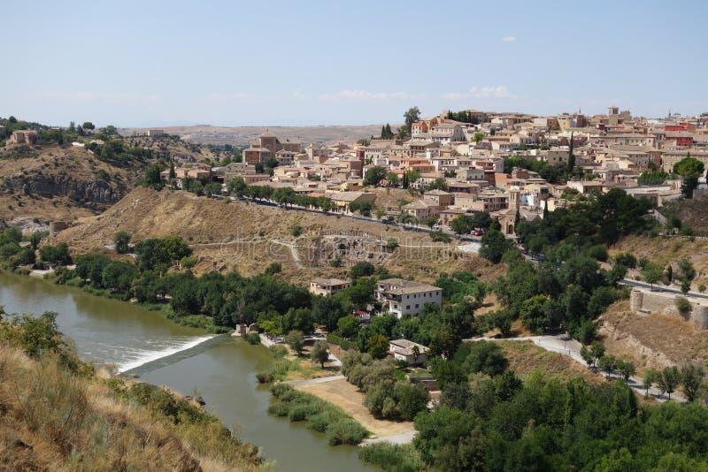 Stad van Toledo, Spanje royalty-vrije stock afbeelding